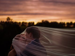 Le nozze di Alexandra e Anders