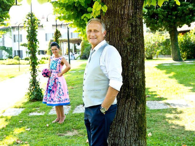 Il matrimonio di Angelo e Marilena a Mazzano, Brescia 83