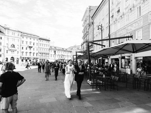 Il matrimonio di Alessandro e Lara a Trieste, Trieste 18