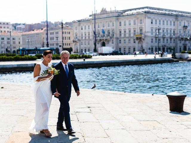 Il matrimonio di Alessandro e Lara a Trieste, Trieste 229