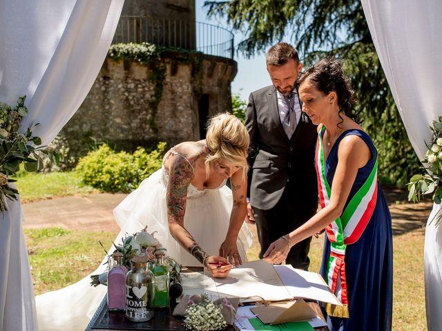 Il matrimonio di Marco e Francesca a Erba, Como 42