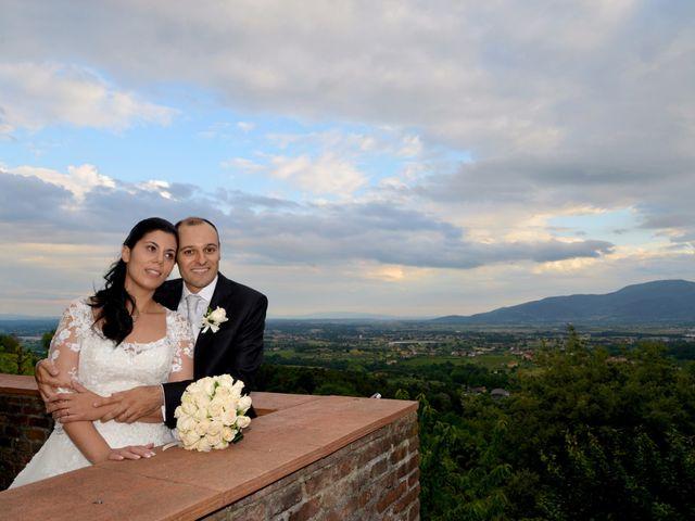 Il matrimonio di Francesco e Rita a Montecarlo, Lucca 53