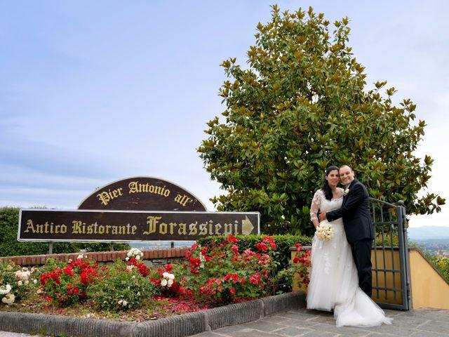 Il matrimonio di Francesco e Rita a Montecarlo, Lucca 55