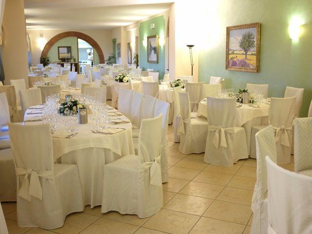 Il matrimonio di Francesco e Rita a Montecarlo, Lucca 67