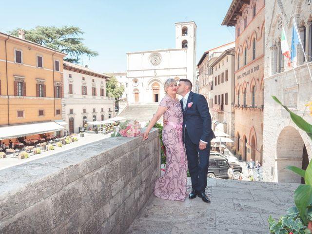 Il matrimonio di Moreno e Inna a Todi, Perugia 41