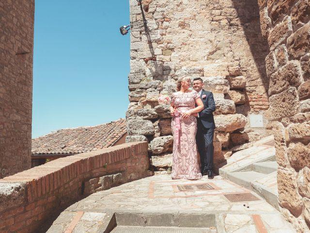 Il matrimonio di Moreno e Inna a Todi, Perugia 54