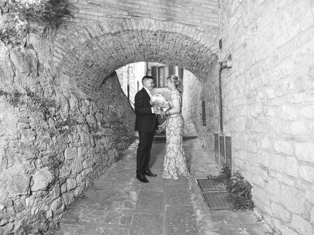 Il matrimonio di Moreno e Inna a Todi, Perugia 55