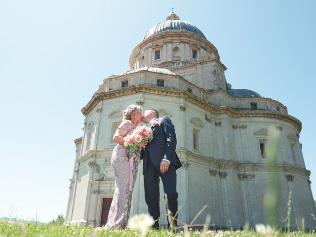 Il matrimonio di Moreno e Inna a Todi, Perugia 1