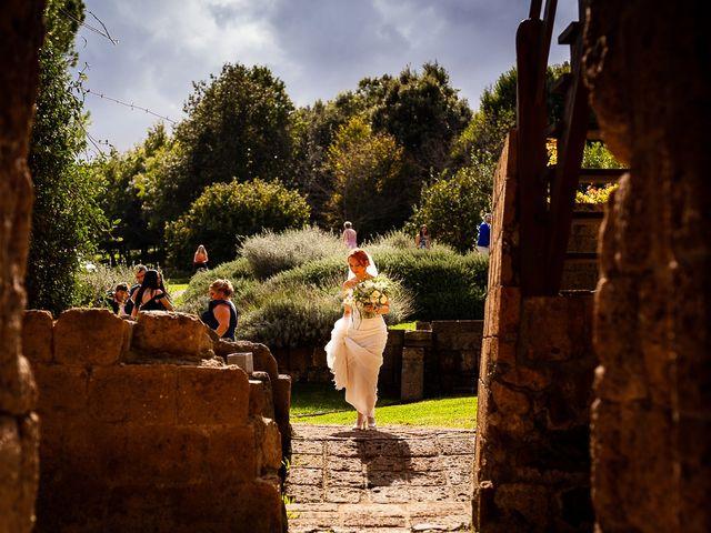 Il matrimonio di Anders e Alexandra a Tuscania, Viterbo 40