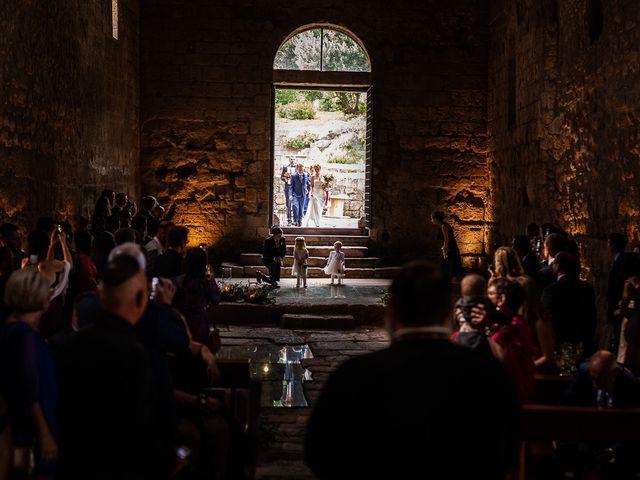 Il matrimonio di Anders e Alexandra a Tuscania, Viterbo 49