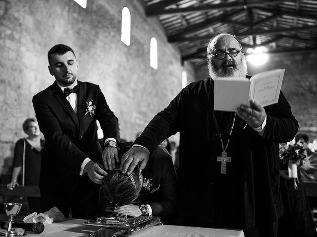 Il matrimonio di Anders e Alexandra a Tuscania, Viterbo 74