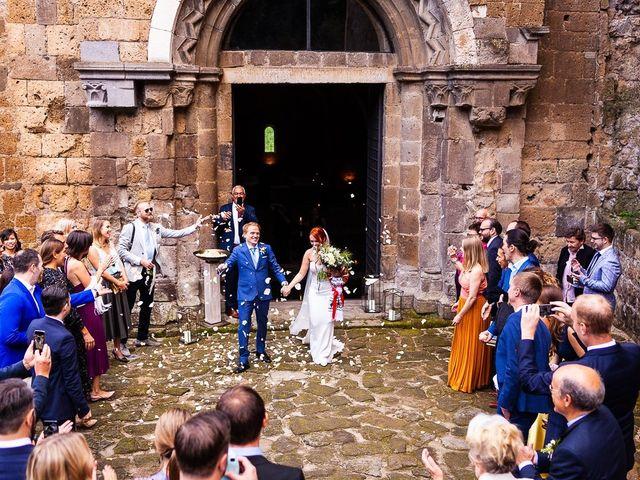 Il matrimonio di Anders e Alexandra a Tuscania, Viterbo 80