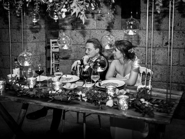 Il matrimonio di Anders e Alexandra a Tuscania, Viterbo 109