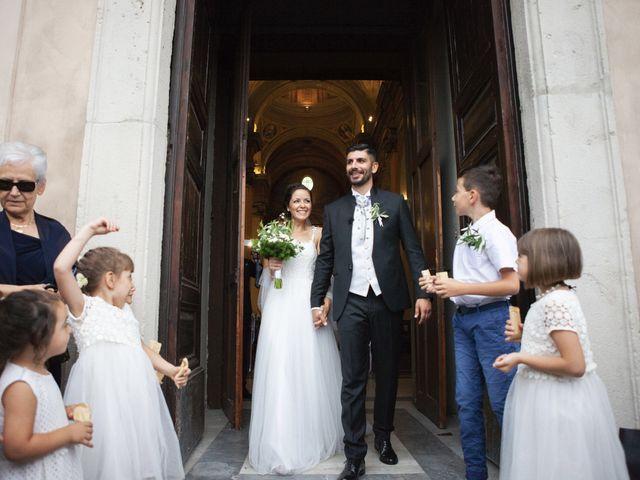 Il matrimonio di Italo e Enrica a Bracciano, Roma 44