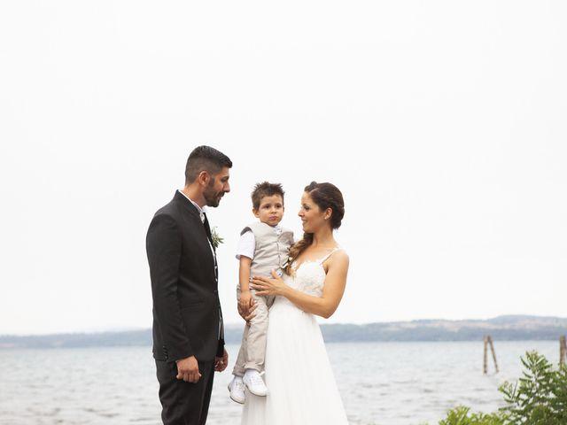 Il matrimonio di Italo e Enrica a Bracciano, Roma 57