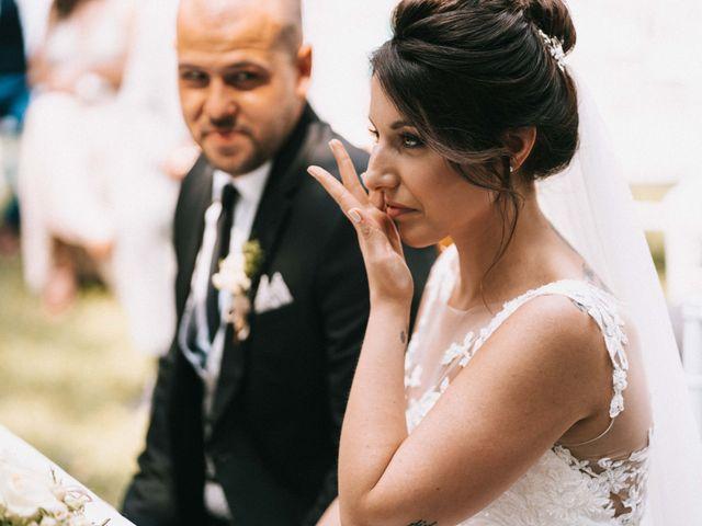 Il matrimonio di Mattia e Vanessa a Rovellasca, Como 28