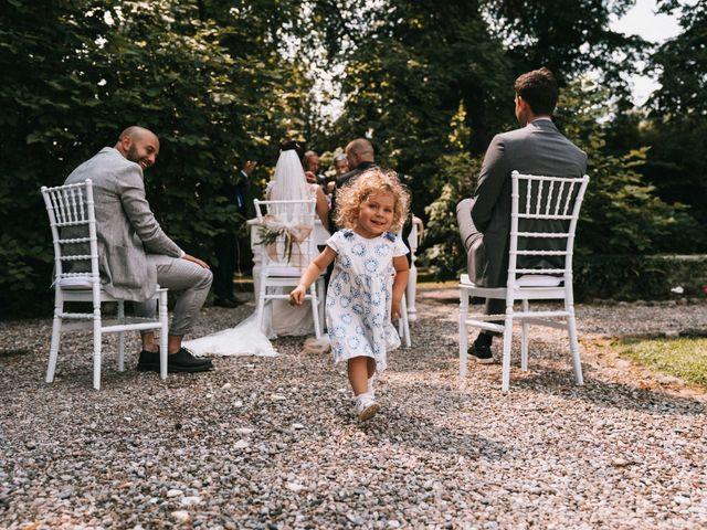 Il matrimonio di Mattia e Vanessa a Rovellasca, Como 30