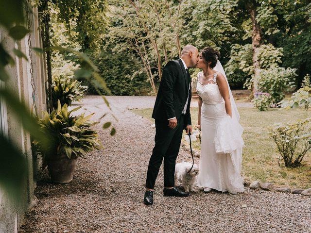Il matrimonio di Mattia e Vanessa a Rovellasca, Como 39