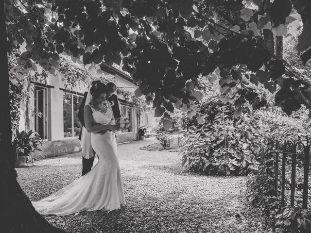 Il matrimonio di Mattia e Vanessa a Rovellasca, Como 41