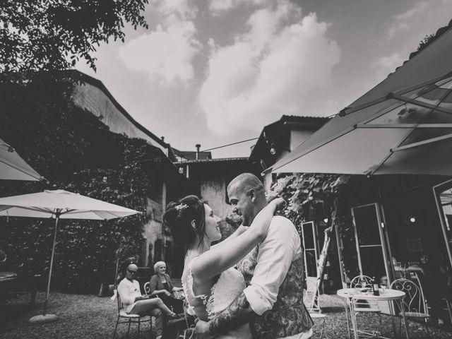 Il matrimonio di Mattia e Vanessa a Rovellasca, Como 57