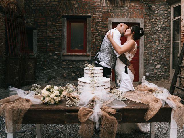 Il matrimonio di Mattia e Vanessa a Rovellasca, Como 63