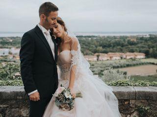 Le nozze di Clara e Sandro