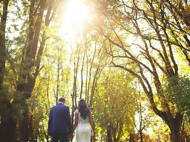 le nozze di Samira e Gianluca