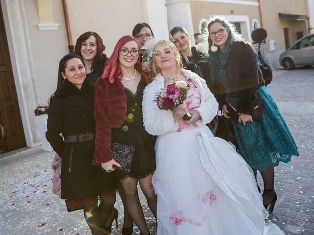 Il matrimonio di Francesco e Sara a Maclodio, Brescia 68