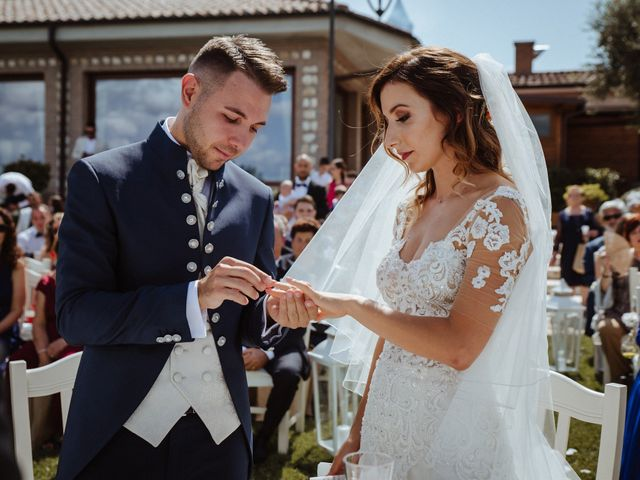 Il matrimonio di Sabrina e Alessio a Palombara Sabina, Roma 37