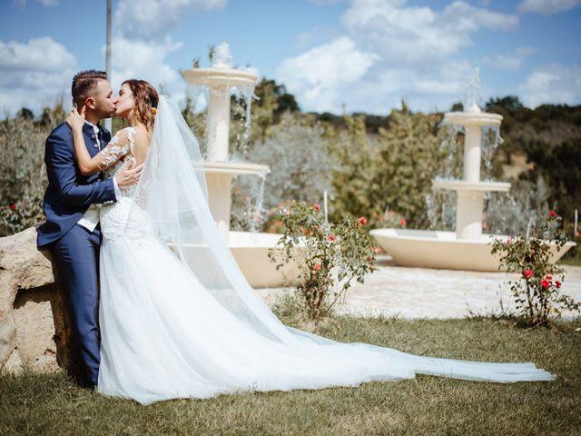 Il matrimonio di Sabrina e Alessio a Palombara Sabina, Roma 45