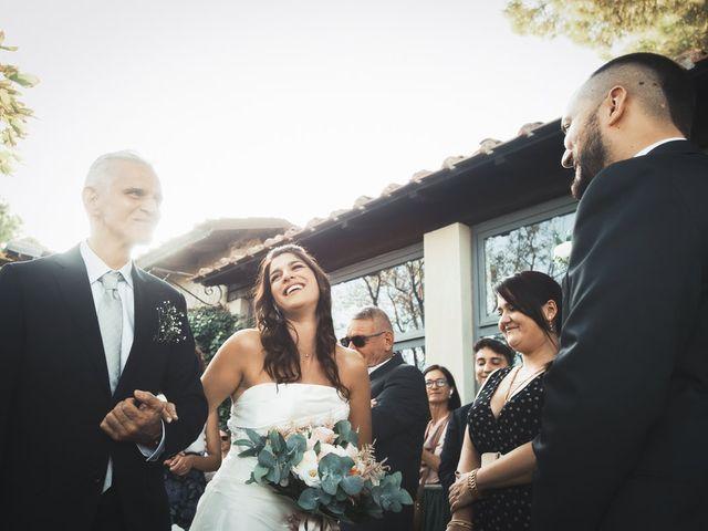 Il matrimonio di Francesco e Ilaria a Grottaferrata, Roma 17