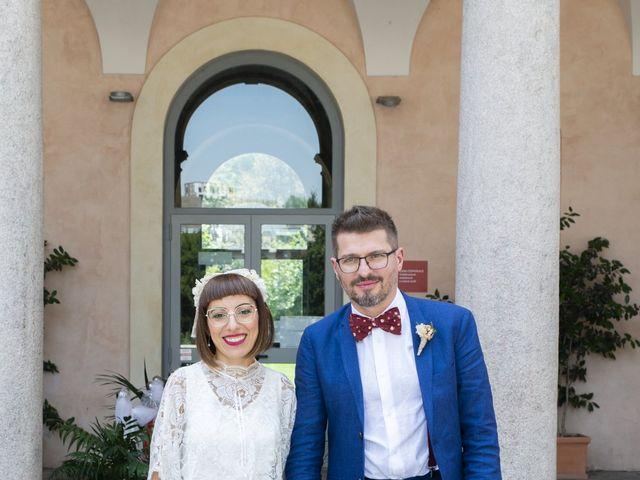 Il matrimonio di Matteo e Graziella a Milano, Milano 5