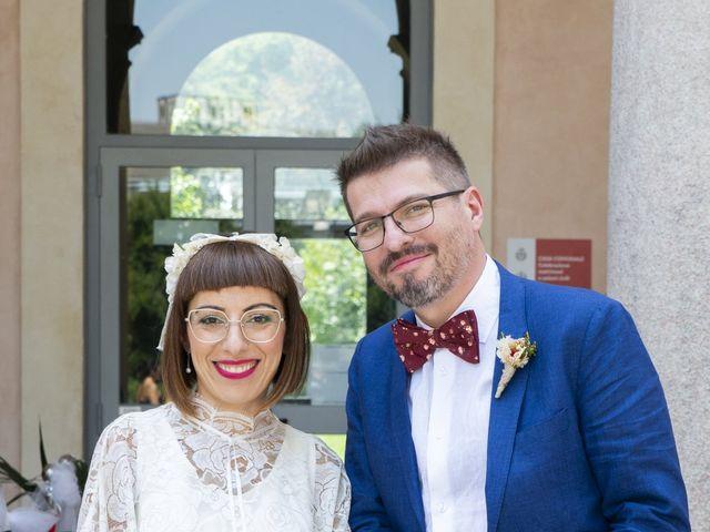 Il matrimonio di Matteo e Graziella a Milano, Milano 6