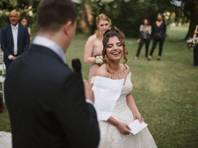 Il matrimonio di Martina e Oscar a Passirano, Brescia 30