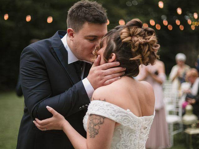 Il matrimonio di Martina e Oscar a Passirano, Brescia 31