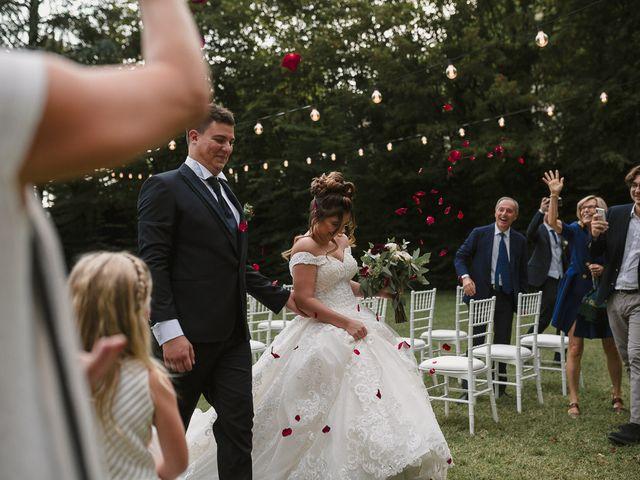 Il matrimonio di Martina e Oscar a Passirano, Brescia 32