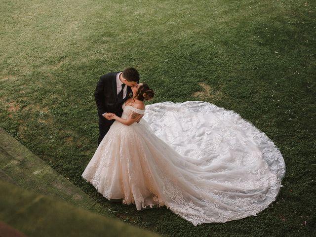 Il matrimonio di Martina e Oscar a Passirano, Brescia 35