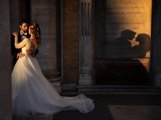 Il matrimonio di Simona e Enrico a Roma, Roma 1