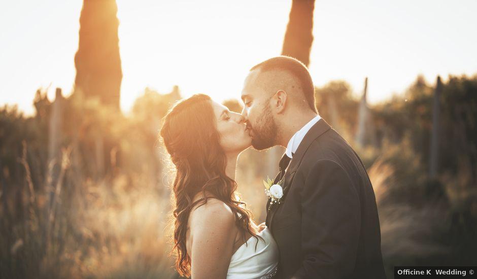 Il matrimonio di Francesco e Ilaria a Grottaferrata, Roma