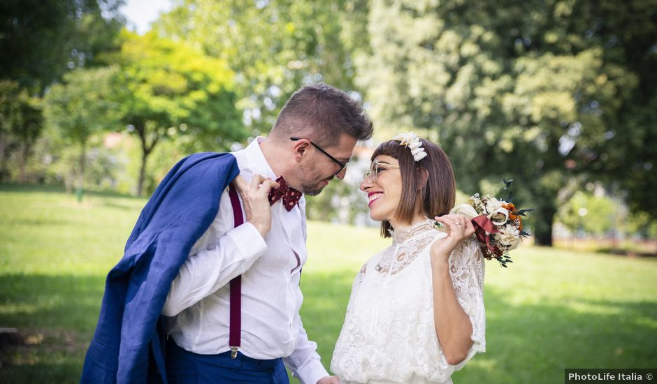 Il matrimonio di Matteo e Graziella a Milano, Milano