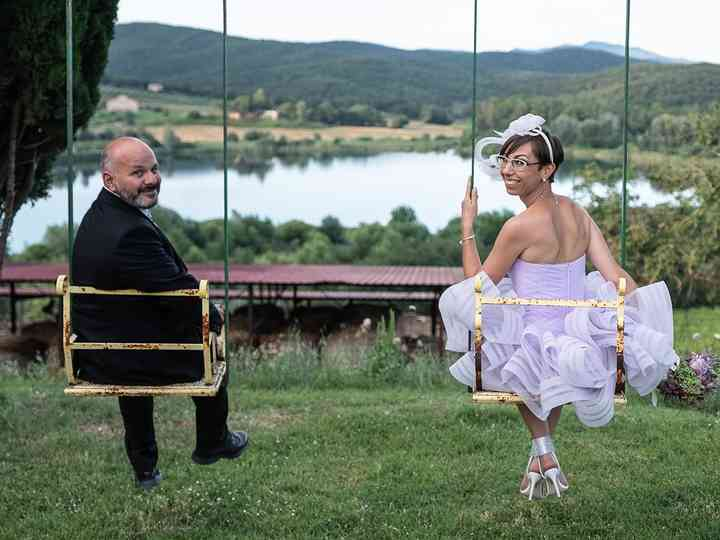 le nozze di Marta e Simone