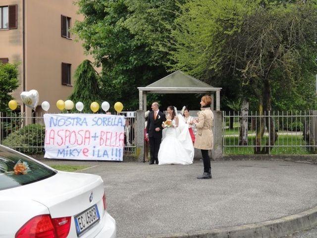 Il matrimonio di Simone e Deborah a Tribiano, Milano 5
