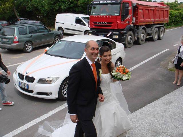 Il matrimonio di Simone e Deborah a Tribiano, Milano 8