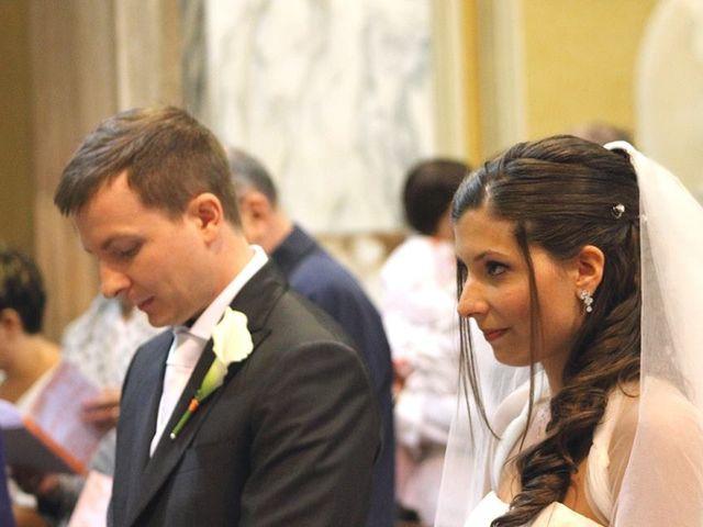 Il matrimonio di Simone e Deborah a Tribiano, Milano 11