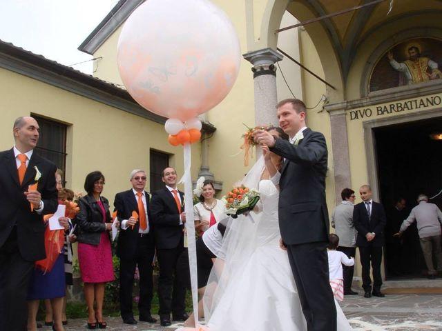Il matrimonio di Simone e Deborah a Tribiano, Milano 15