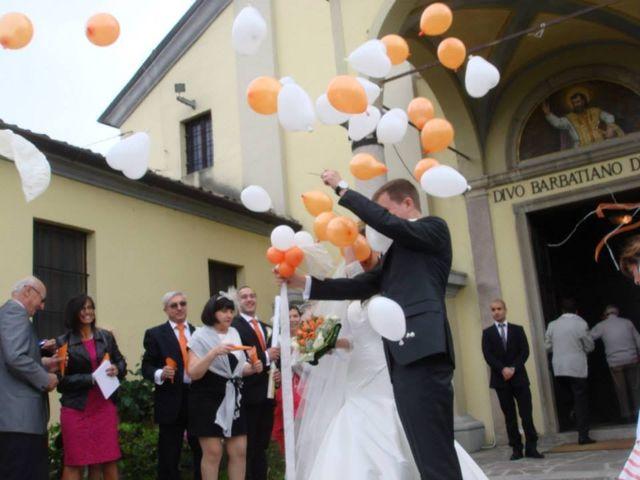 Il matrimonio di Simone e Deborah a Tribiano, Milano 16