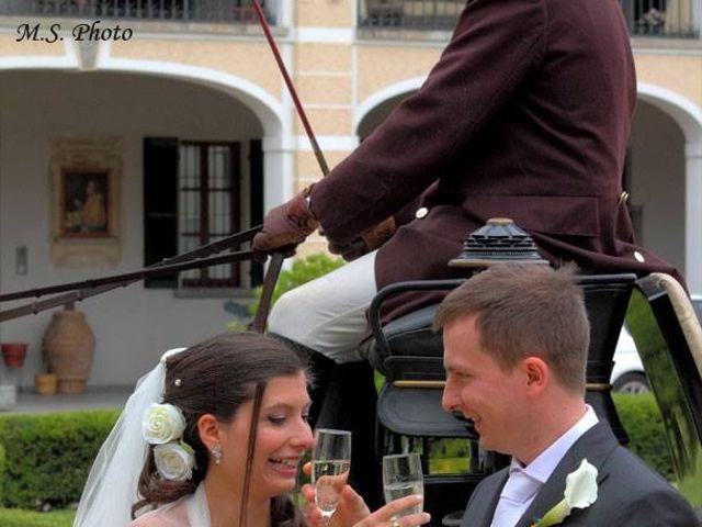 Il matrimonio di Simone e Deborah a Tribiano, Milano 17