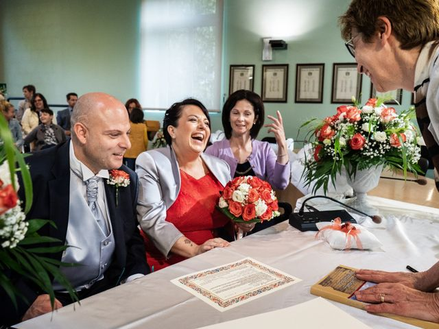 Il matrimonio di Massi e Manola a Pontirolo Nuovo, Bergamo 29