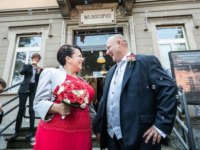 Il matrimonio di Massi e Manola a Pontirolo Nuovo, Bergamo 33