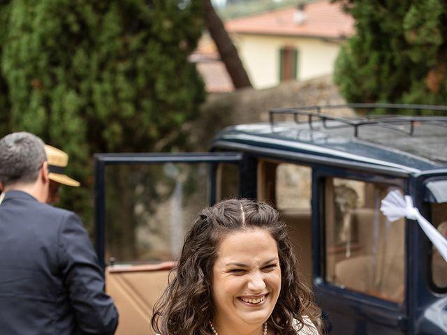 Il matrimonio di Davide e Irene a San Casciano in Val di Pesa, Firenze 19